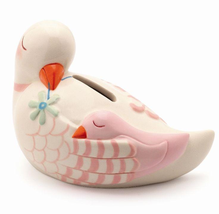 Djeco sparebøsse i keramik - Duemor - Tinga Tango #djeco#legetøj#børneværelse