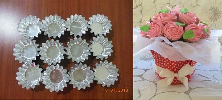 Molde para cupcakes