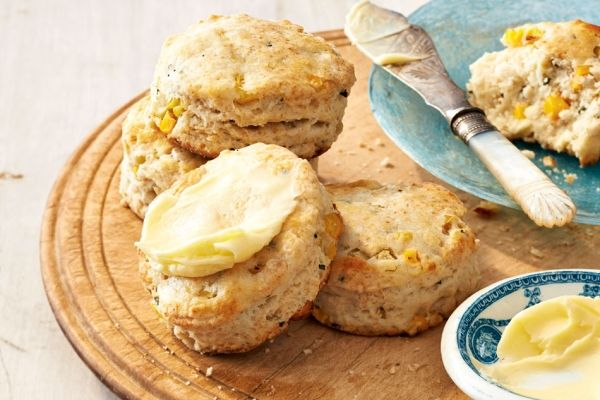 Corn, Buttermilk and Chive Biscuits | Photos, Eggs and Egg ...
