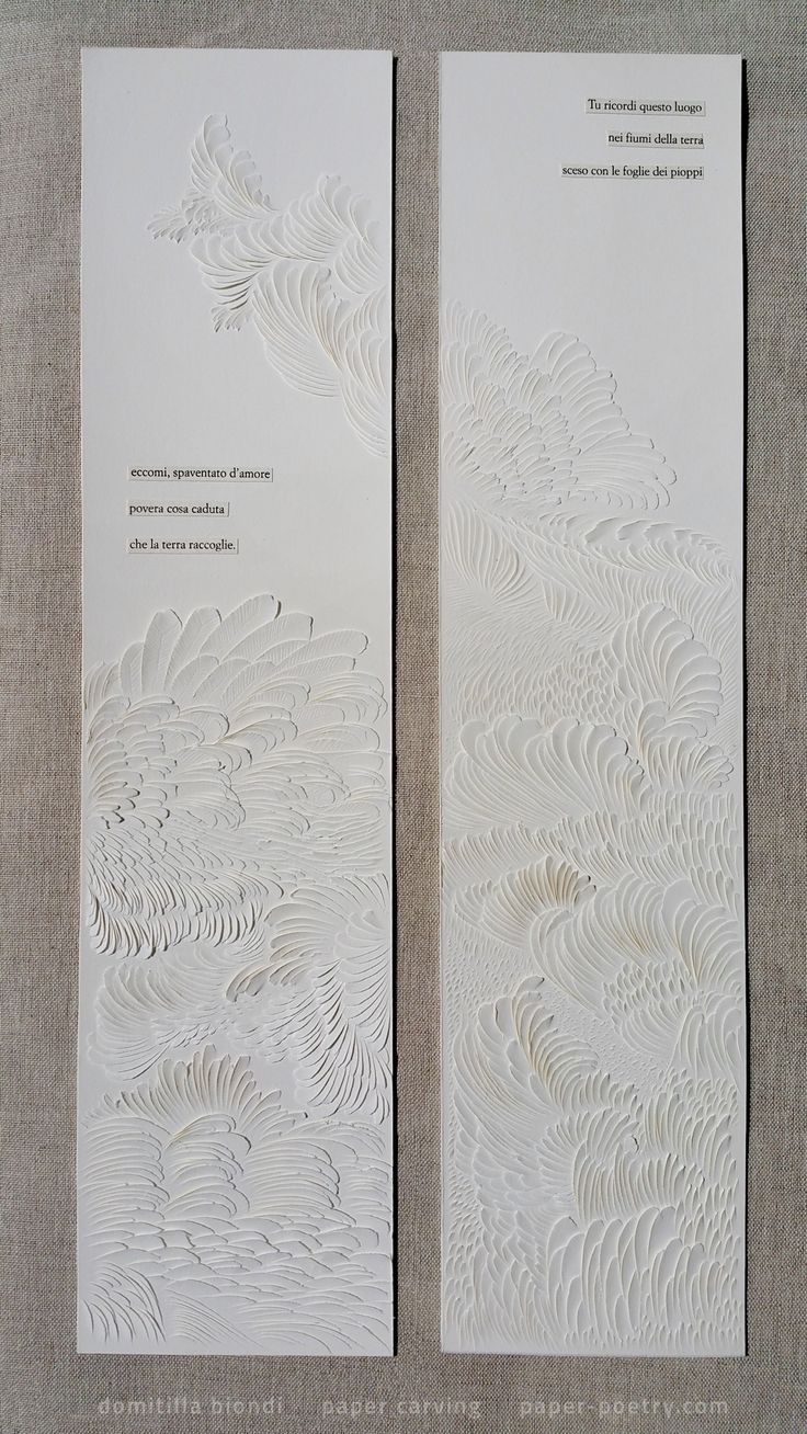 Best Paper Poetry Images On Pinterest Poetry Greeting Cards - Amazing artist carves beautiful designs paper