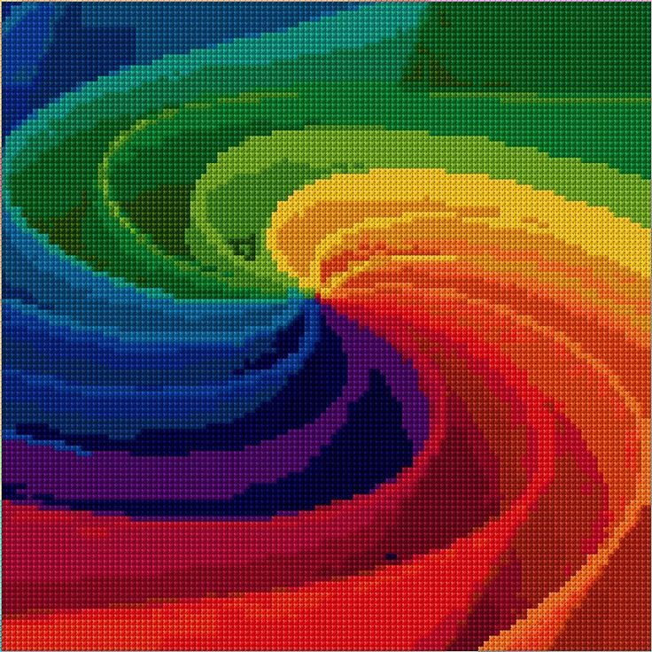 Motion Free Cross Stitch Pattern Chart I wouldn't have the patience, but it looks really cool. :)C