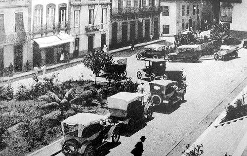 Plaza de San Francisco, Santa Cruz de Tenerife, año 1920