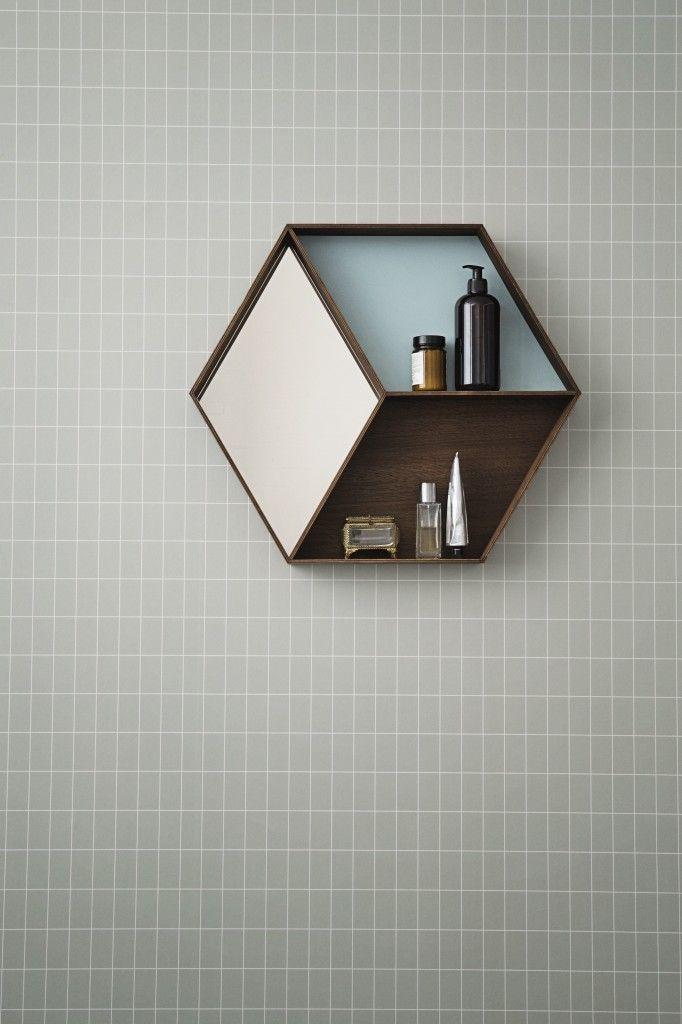 Ferm living // http://www.fermliving.com/webshop/shop/new-collection/wall-wonder-mirror-1.aspx