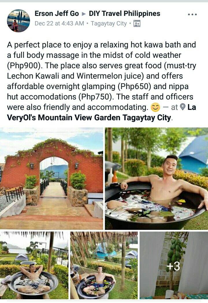 La VeryOl's Mountain View Garden Resort Tagaytay City | Lorega Plans