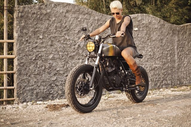 1102 best women motorcyclists images on pinterest for Yamaha motorcycles for women
