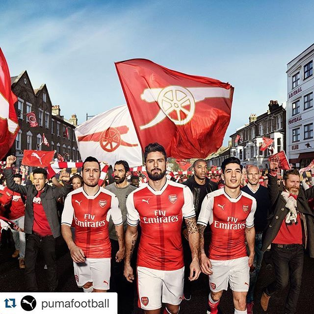 #Repost @pumafootball ・・・ We are the corner of Highbury Hill and Gillespie Road. We are the home crowd. We are THE @Arsenal. And we are proud to be introducing yet another legend with white sleeves. #ForeverArsenal