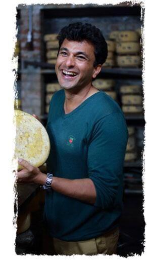 vikas khanna @MH cheese