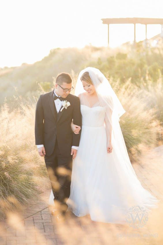 A gorgeous oceanfront wedding at Terranea Resort in Rancho Palos Verdes | Southern California luxury hotel wedding venues by the beach (Brandon Wong Photography)