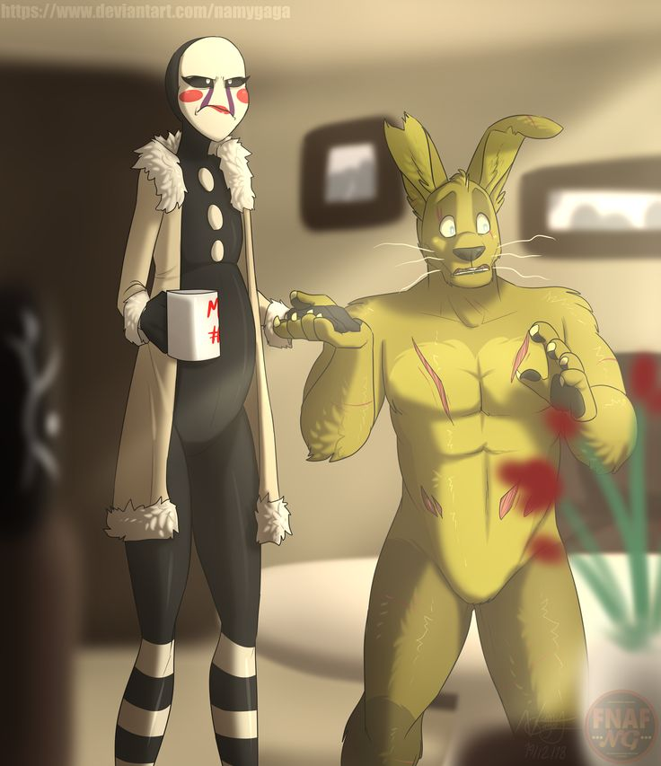 Pin By Diana Huff On Springtrap Creation Of Five Nights At