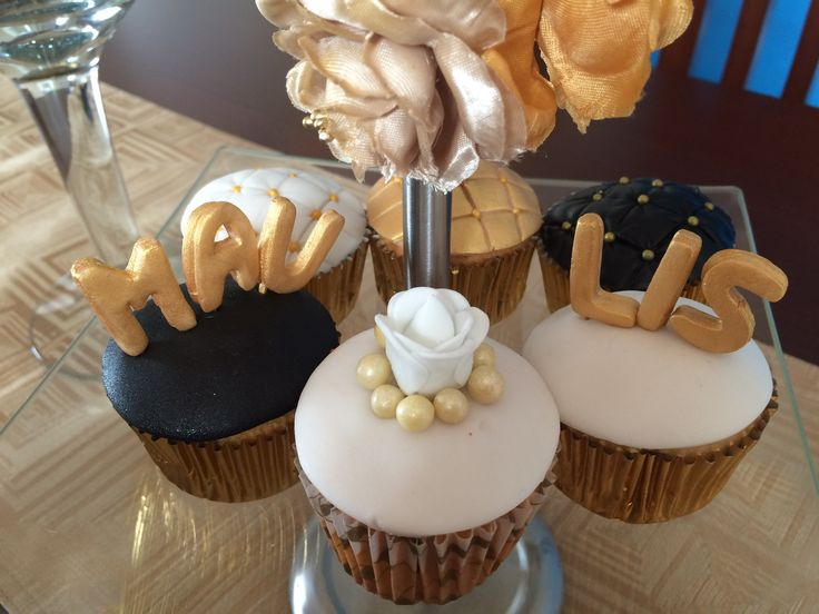 Matrimonio civil <3 Mau&Lis Love cupcakes - Jisty®