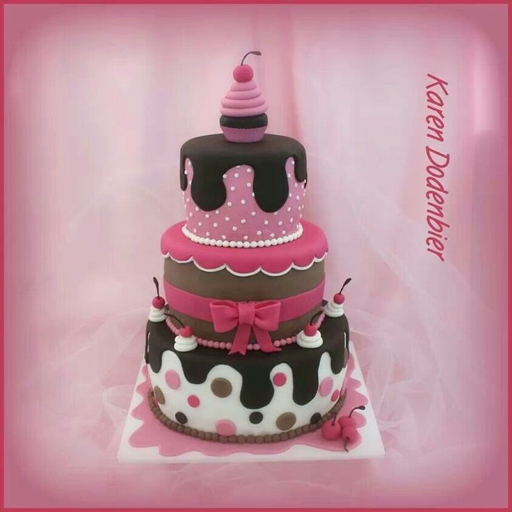 22 best Birthday cake for 12 year old girls images on Pinterest