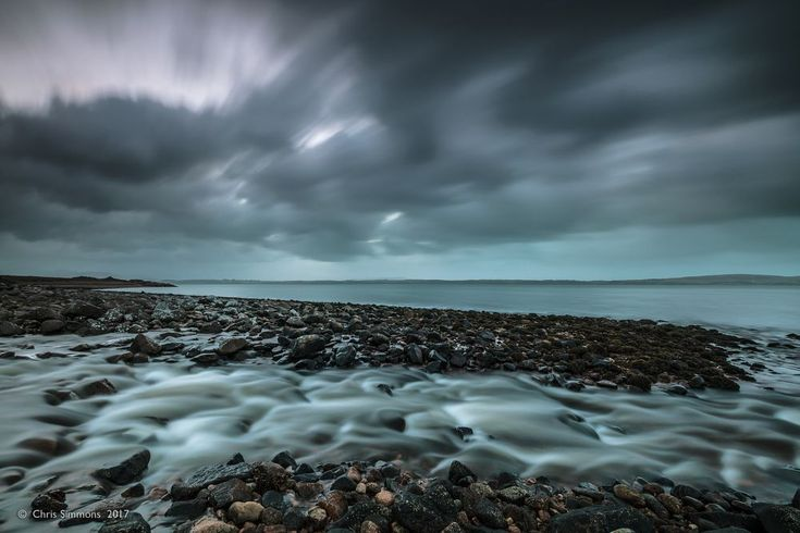 Streaming Beach by Chris Simmons Photography