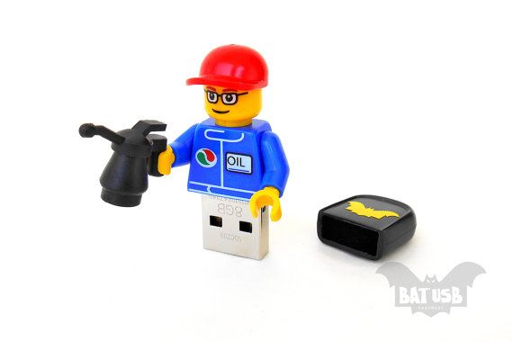 Lego mechanic usb 8/16/32/64GB  Memory Stick  Lego® by BatLab