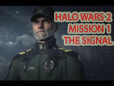 Halo wars 2 Campaign mission 1 | The Signal | Heroic