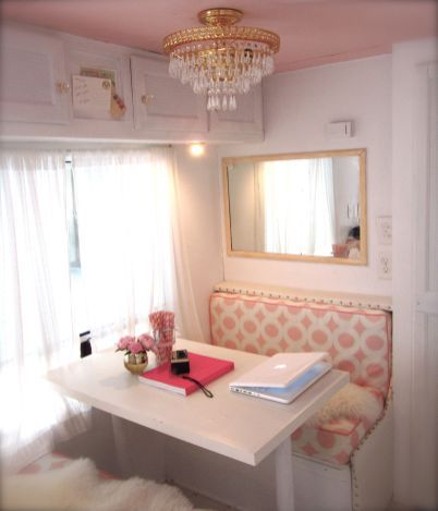 The Best and Low Budget RV Hacks Makeover Remodel Table Ideas No 12