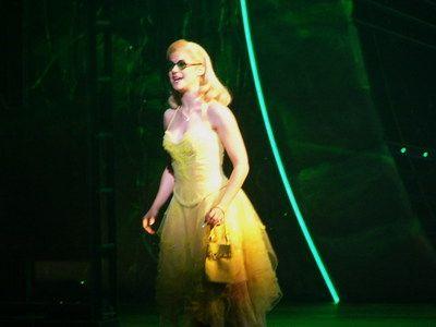 Lucy Scherer (Glinda) in the original Stuttgart production.