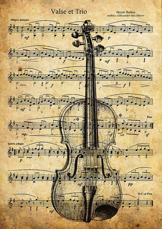 He encontrado este interesante anuncio de Etsy en https://www.etsy.com/es/listing/208170902/print-art-collage-mixed-media-violin