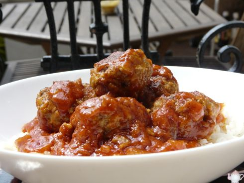 Boulettes de boeuf sauce tomate Cyril Lignac: www.croquantetgourmand.com