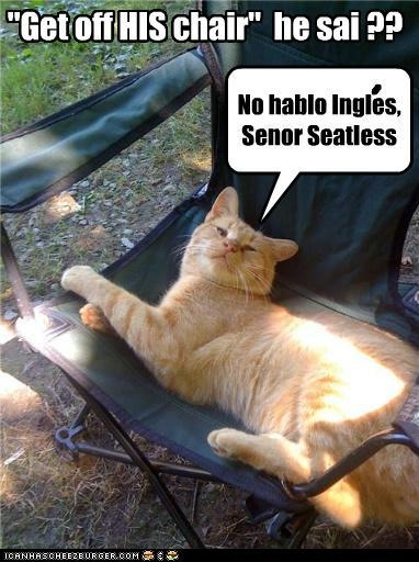 Senor seatless! Ha!