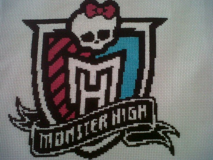 Cuadro grande 30x30 cm Monster High