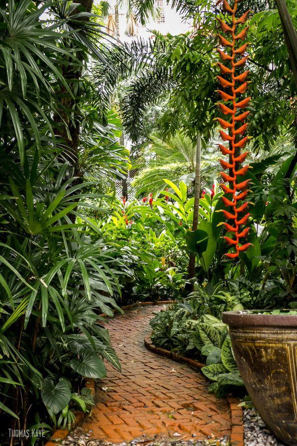 Gardens of Jim Thomson House, Bangkok, Thailand