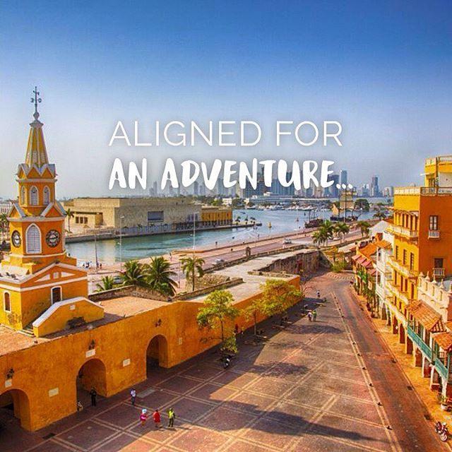 Aligned for an adventure. Are you ready to meet #Cartagena de Indias?   www.hotellasamericas.com.co  #MondayMotivation #ElHoteldeLasEstrellas #Lifestyle #ThePreferredLife #Inspiration #instapic