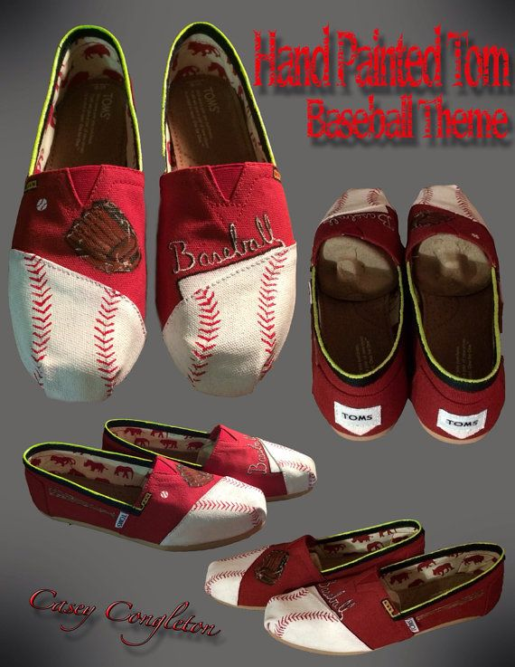 Hey, I found this really awesome Etsy listing at http://www.etsy.com/listing/178648252/baseball-custom-toms