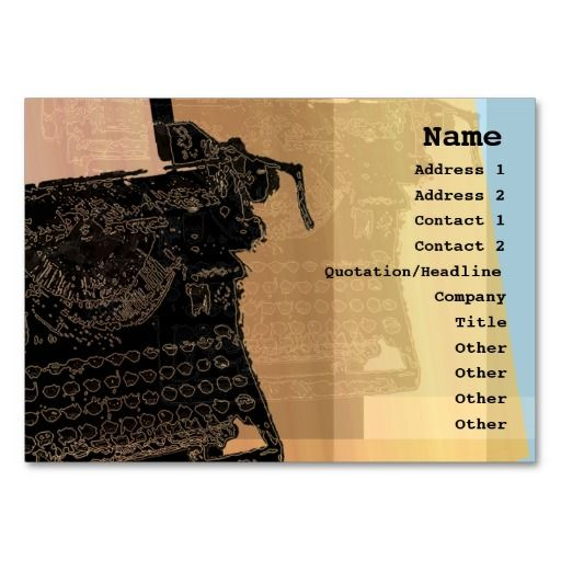 195 best Poet Business Cards images on Pinterest | Business cards ...