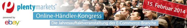 Plentymarkets Online-Händler-Kongress am 15. Februar in Kassel, wir sind dabei! - Mehr Infos zum Thema auch unter http://vslink.de/internetmarketing