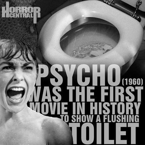 Little known fact about Psycho.