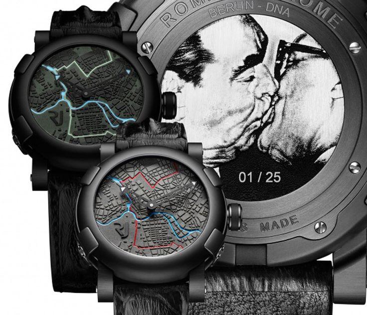 #Zegarek #Mur #Berlinski http://luxxx.pl/zegarek-25-rocznice-upadku-muru-berlinskiego/