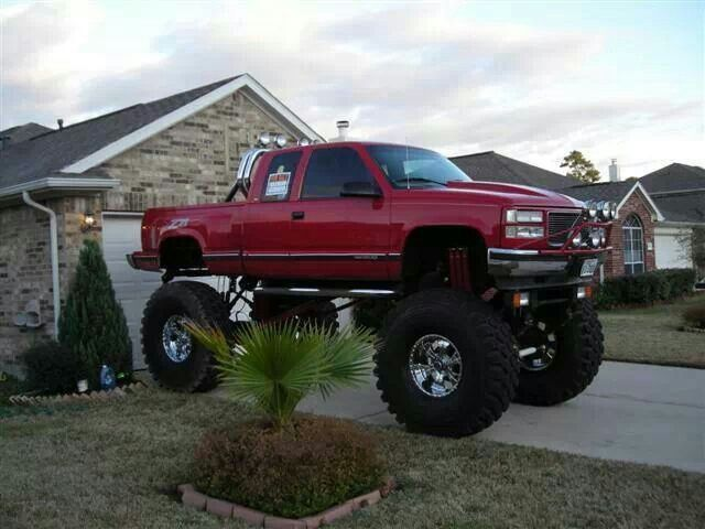 big lifted chevy trucks - photo #11