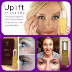 Uplift Eye Serum -Formulated to replenish, moisturize, and reduce the appearance of fine lines and wrinkles.
