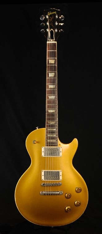This is the 1957 goldtop Les Paul that Duane Allman purchased in