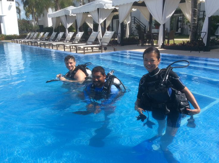 Learn to dive in our pool, then explore the Caribbean together. Dive lessons available through White Sands Dive Shop, our onsite, 5-star PADI dive shop.