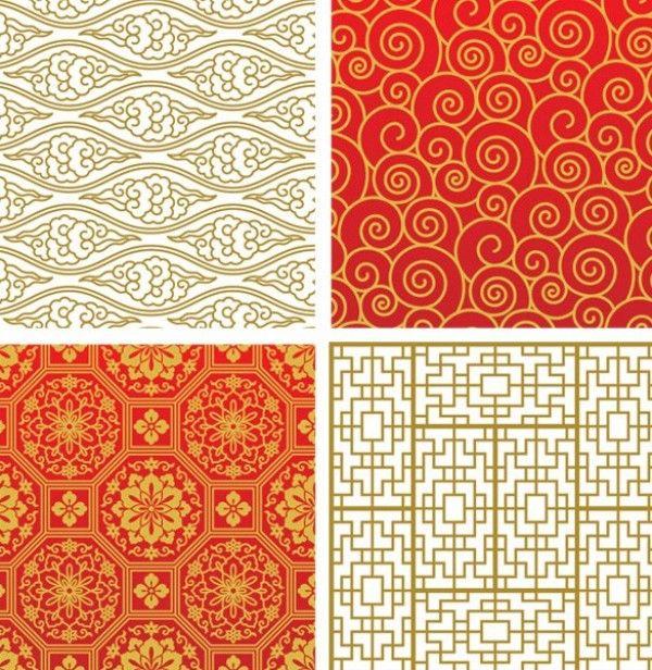 8 Lovely Asian Vector Seamless Patterns - http://www.welovesolo.com/8-lovely-asian-vector-seamless-patterns/