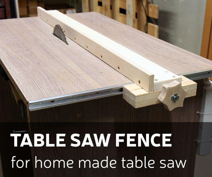 Dieses Mal mache ich einen Tischsägezaun für meine hausgemachte Tischsäge. Wie ich es gemacht habe … #WoodWorking