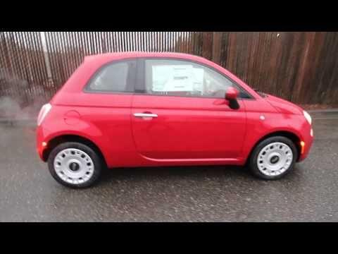 2013 Fiat 500 Pop   DT754818   Red   Redmond   Seattle