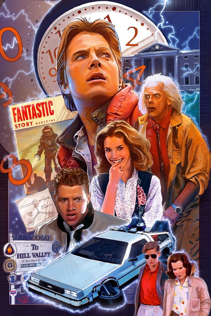 Back to the Future Poster - Blake Armstrong