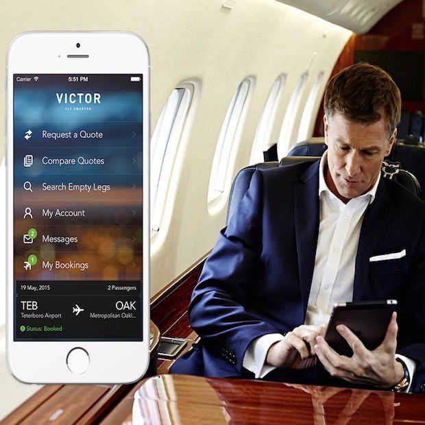 De nieuwe Uber voor privé jets!