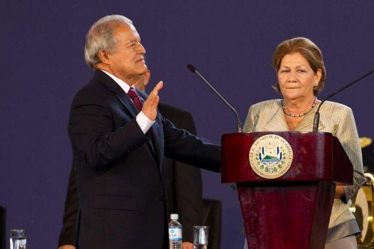 Salvador Sanchez Ceren sworn in as El Salvador's president