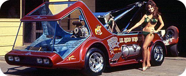 """REDD FOXX'S """"L'IL RED WRECKER"""": Lil Redd, Barry Custom, Redd Foxx, Custom Cars, Red Wrecker, American Classiccustommuscl, Redd Wrecker, Hot Rods, George Barry Cars"""