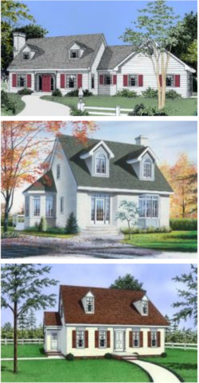 17 best images about 3d house plans on pinterest luxury for Early new england home plans