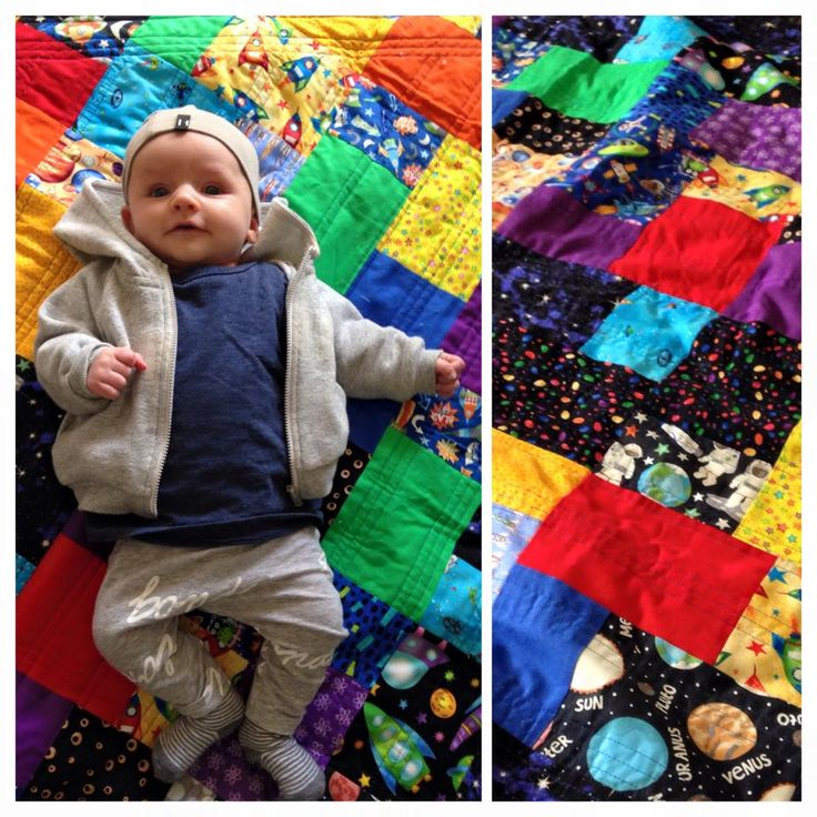 Great Nephew No. 2! Outer space for this little guy