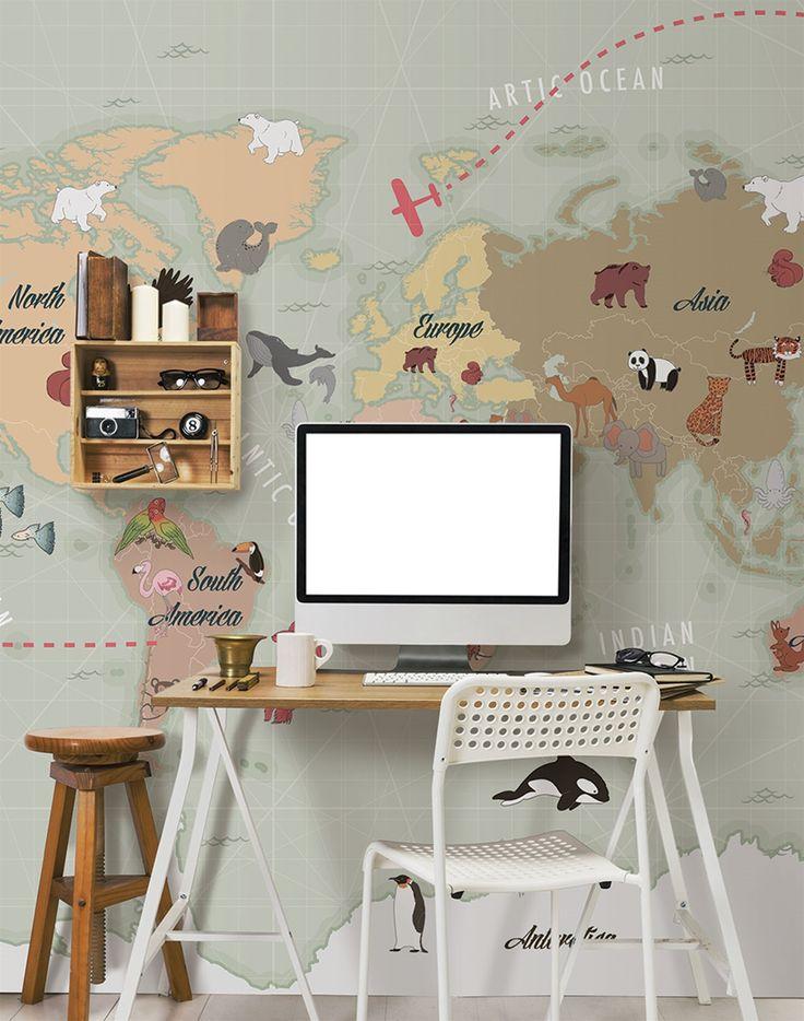 Marsala, ya os presentamos a Riccardo Zulato, sin duda sabe como hacer que un niño pueda divertirse mirando un mapa... by London Art.