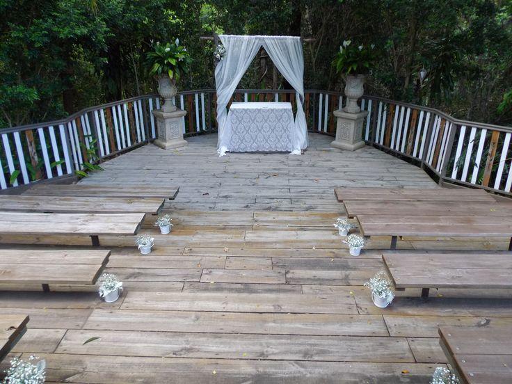 Wedding ceremony at Eco Studio Fellini