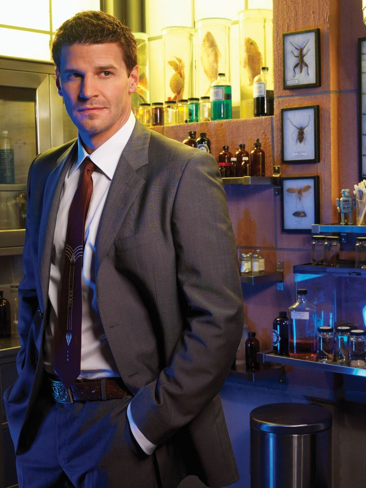 Bones Season 3 - Promo Image | David Boreanaz as Special Agent Seeley Booth