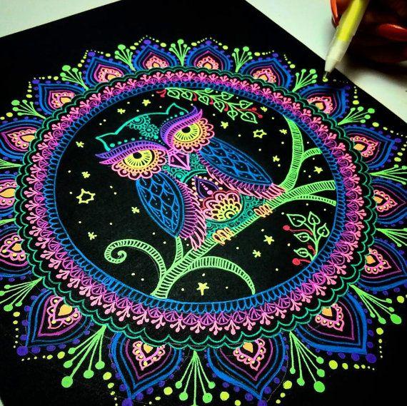 Custom Mandala Design por HennaShantalla en Etsy