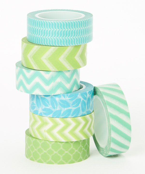 Love this Two Berry Creative Under the Sea Washi Tape Set by Two Berry Creative on #zulily! #zulilyfinds