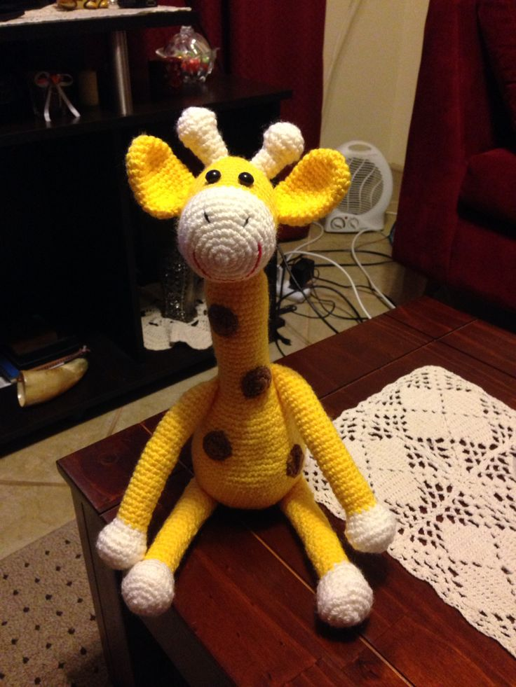 Jirafa #amigurumi #crochet